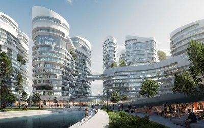 Zaha Hadid Architects selected to build Rublyovo-Arkhangelskoye smart city west of Moscow