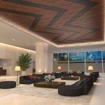New WoodWorks® Shapes for DESIGNFlex™ offer more options for reinventing the ceiling plane