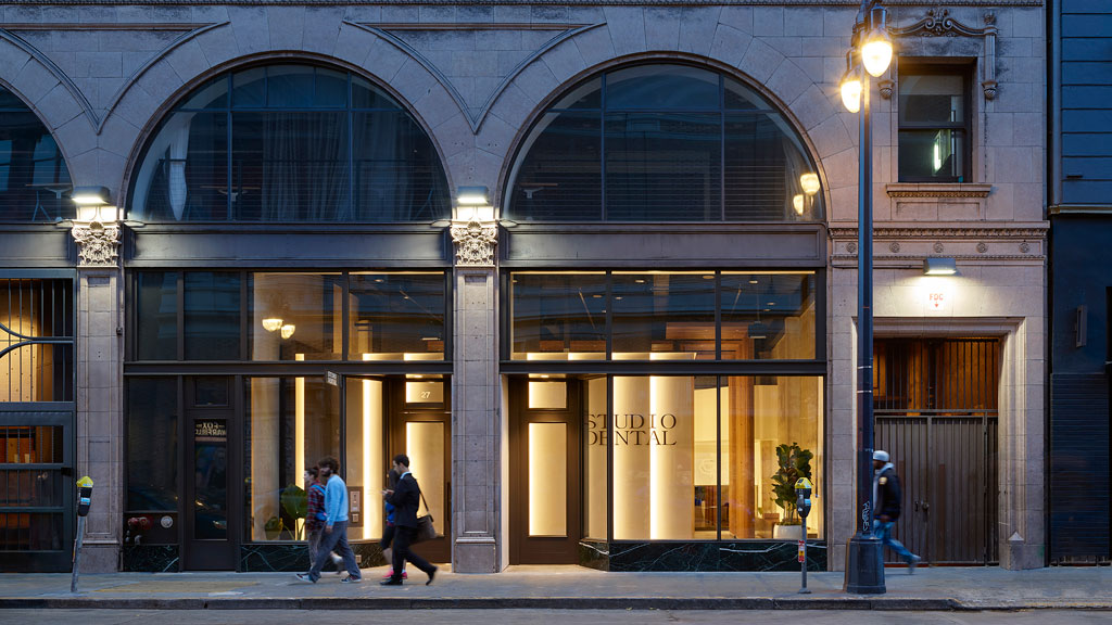 Studio Dental II, San Francisco. Photo credit: © Kevin Scott