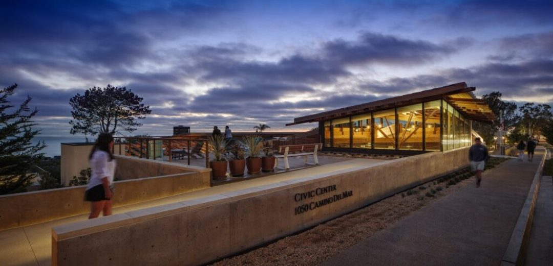 Del Mar Civic Center/The Miller Hull Partnership. Photo credit: Chipper Hatter
