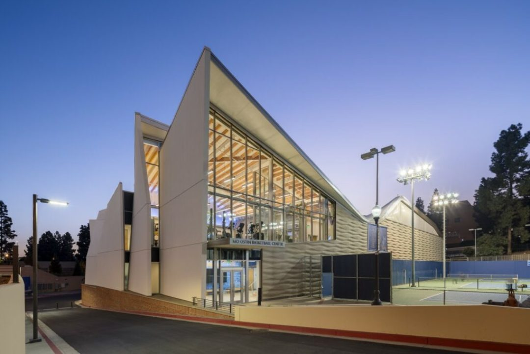 Mo Ostin Basketball Center at UCLA/Kevin Daly Architects. Photo credit: Eric Staudenmaier