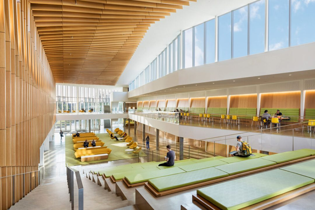 State of the art schools and learning centers honored with - Cornell university interior design program ...