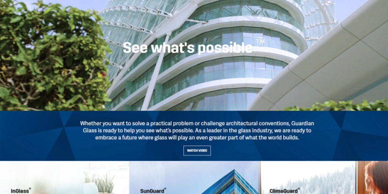 Guardian Glass launches new website