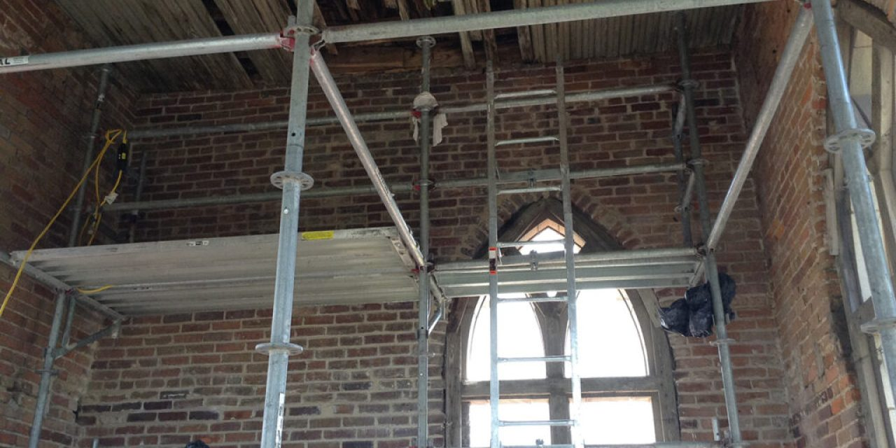 Western Specialty Contractors restores bell tower at historic Little Rock, Arkansas church