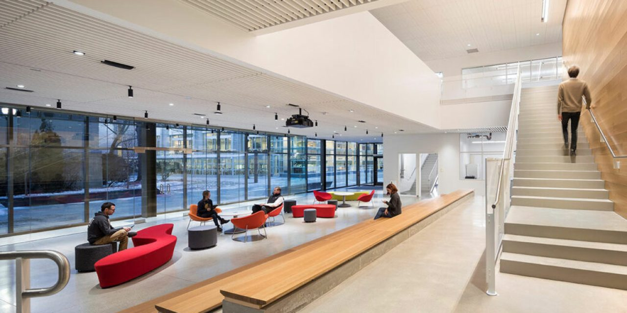 Leers Weinzapfel Associates completes sustainable Wentworth Institute of Technology Center for Engineering, Innovation, and Sciences
