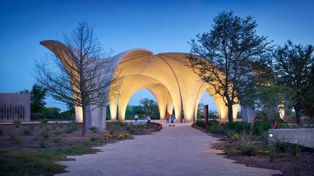Confluence Park in San Antonio, Texas; designed by Lake | Flato Architects. Credit: © Casey Dunn