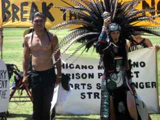 Photo: Aztec dancers