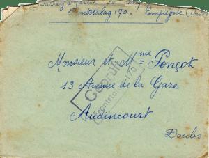 prisonniers de guerre français Compiègne front-stalag 170