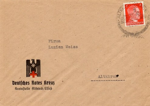 Croix Rouge Allemande Section Alsace
