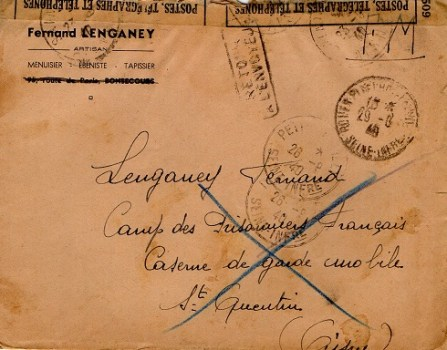 prisonniers de guerre camp de prisonniers français camp d'Autun