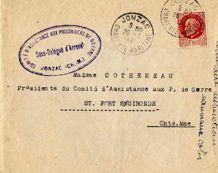 comité d'assistance aux prisonniers de guerre
