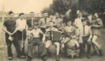 STALAG X II B LA MUSIQUE LE 13 JUILLET 1941 verso