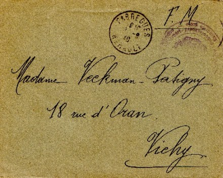 armée belge repliée à Fabrèges (Hérault) 1940