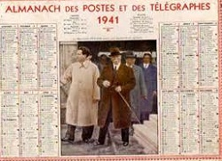 Calendrier 1941.Calendrier 1941prisonniers De Guerre Prisonniers De Guerre