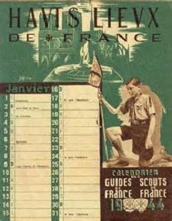calendrier 1944