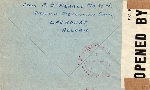 camp de détention des sujets britanniques à Laghouat algérie 1942