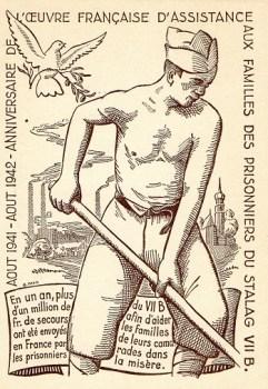 carte illustrée stalag VII B