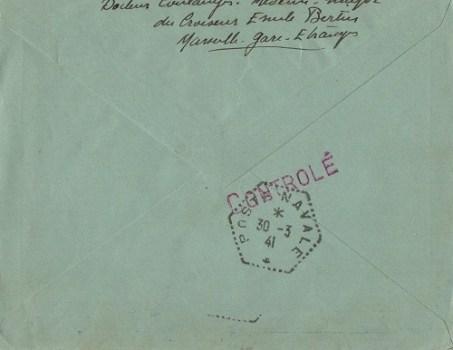 internement du croiseur émile Bertin aux Antilles