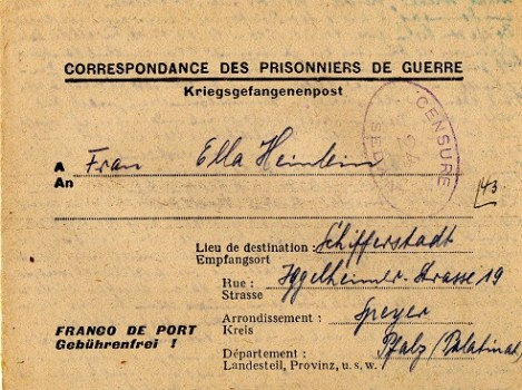 prisonniers de guerre allemand SEDAN
