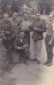 photo de prisonniers de guerre au Stalag IVF
