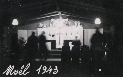 prisonniers de guerre noel 1943 oflag X