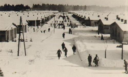 prisonniers de guerre vue du Stalag VII A