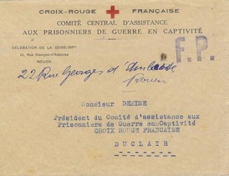 comité central d'assistance aux prisonniers de guerre
