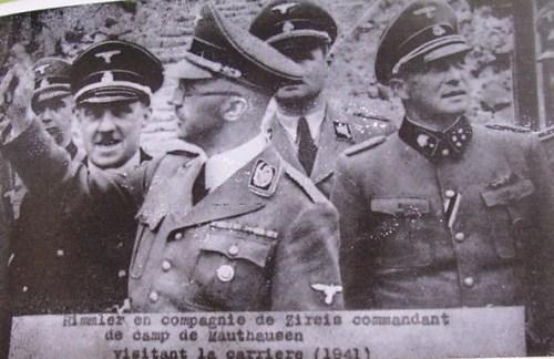 mauthausen himmler en visite dans son camp