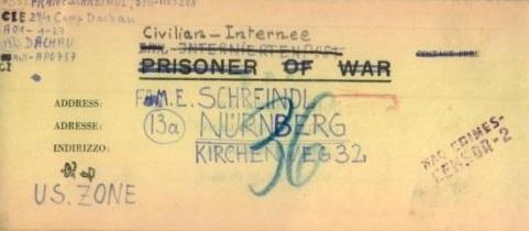 prisonniers civils allemands camp de dachau