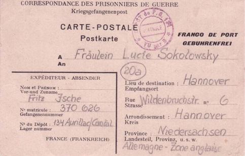 prisonniers de guerre allemands n°134