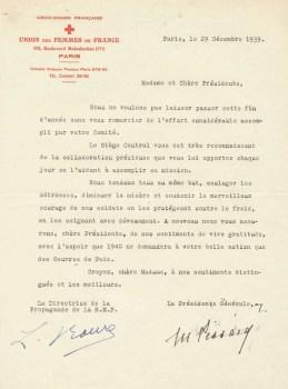 union des femmes de France 12/1939