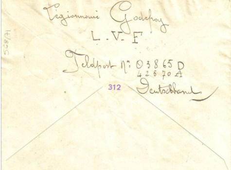 FELDPOST LVF 03865