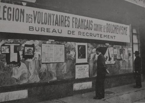 bureau de recrutement de la légion des volontaires français