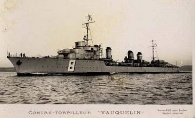 contre torpilleur Vauquelin