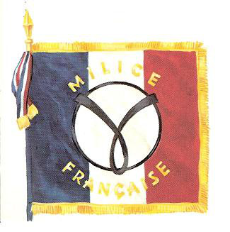 drapeau de la milice