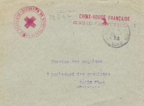 prisonniers de guerre croix rouge