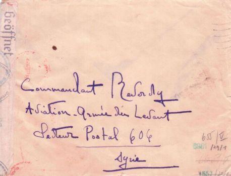 07 06 1941 secteur postal 606