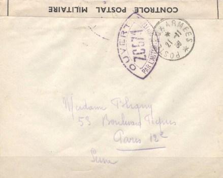 controle postal ZC 571