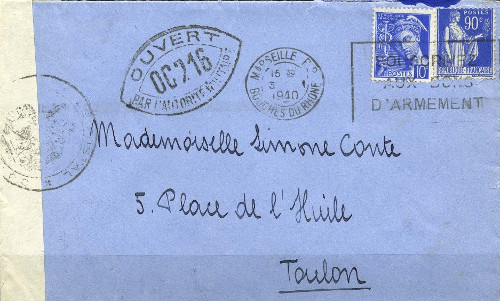 controle-postal OC 216