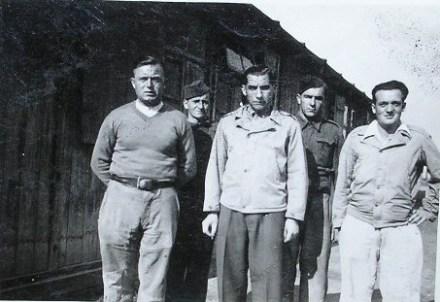 prisonniers de guerre dans un stalag