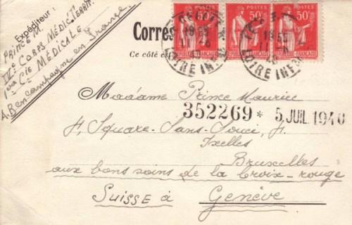 11.06.1940 - Armée Belge en campagne en France