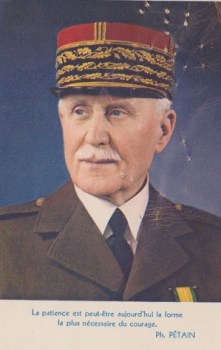 message du maréchal Pétain
