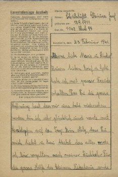 23 02 1941 auschwitz