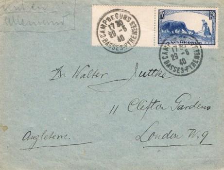 29 05 1940 camp de gurs