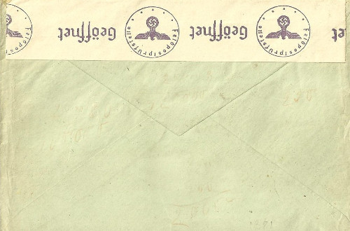 LVF feldpost 14672 29 09 1943