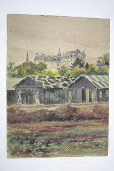 camp de prisonniers de guerre front stalag amboise n°3 1940