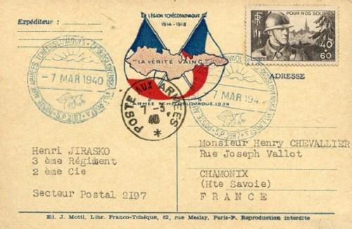 armée tchécoslovaque 07 03 1940 sp 2197