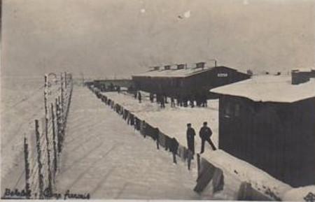 baraques de prisonniers de guerre dans le reich