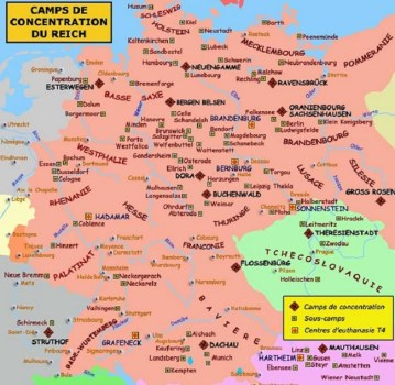 camps de concentration du Reich