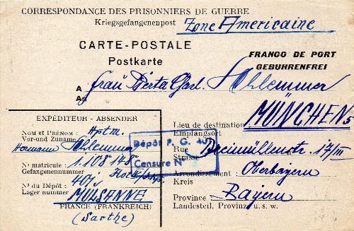 prisonniers de guerre allemands camp n°401
